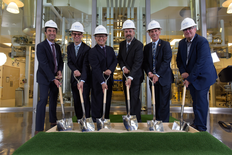 Groundbreaking for the expansion project at Boehringer Ingelheim Fremont, Inc.