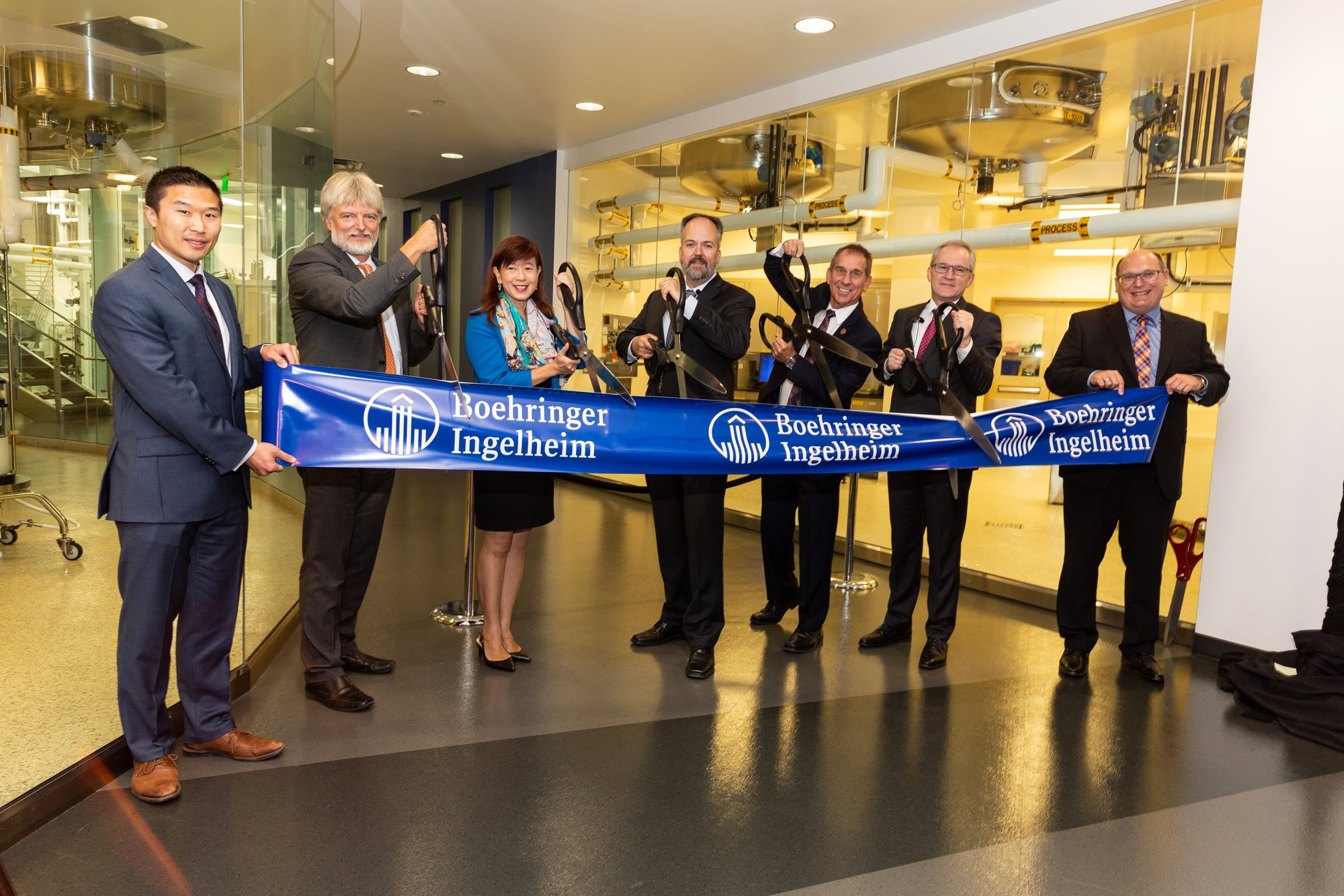 Expansion inauguration at Boehringer Ingelheim Fremont, Inc.