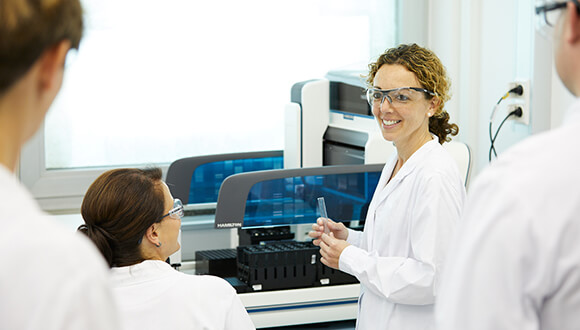 Biopharmaceutical contract manufacturer with a pharma mindset