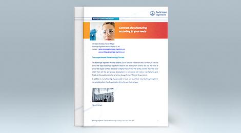 Fill & Finish services at Boehringer Ingelheim BioXcellence™