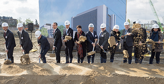 Groundbreaking of Boehringer Ingelheim's new large-scale cell culture facility in Vienna