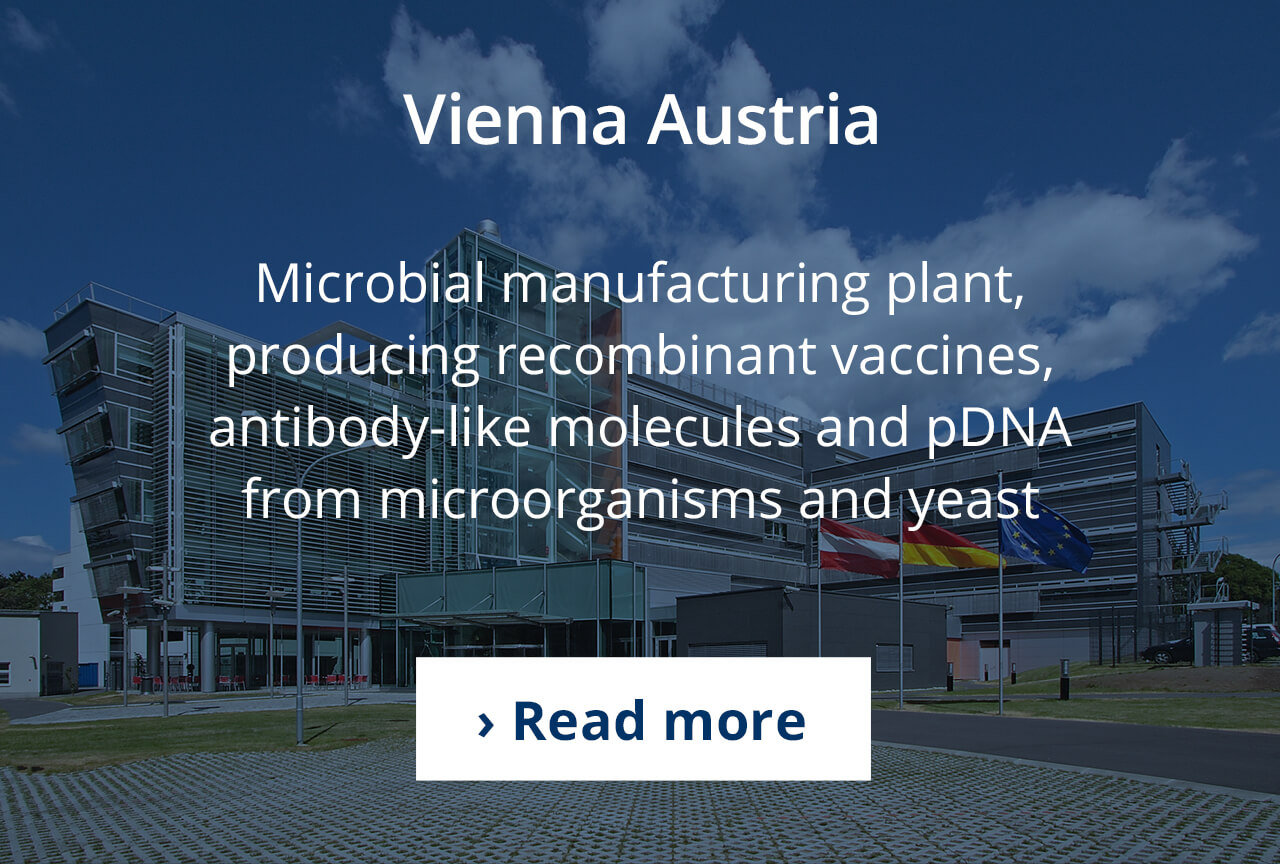 Microbial production in Vienna, Austria.