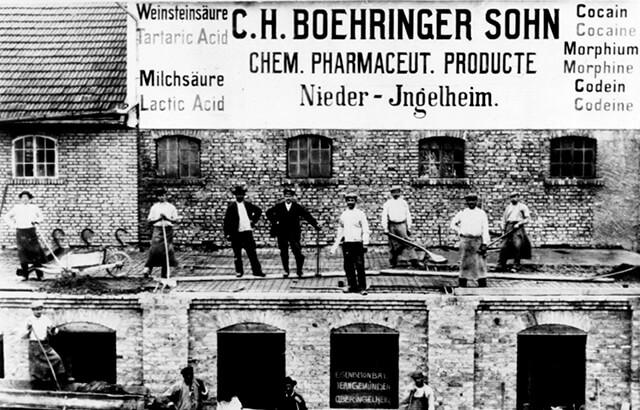 Boehringer Ingelheim factory in 1907.